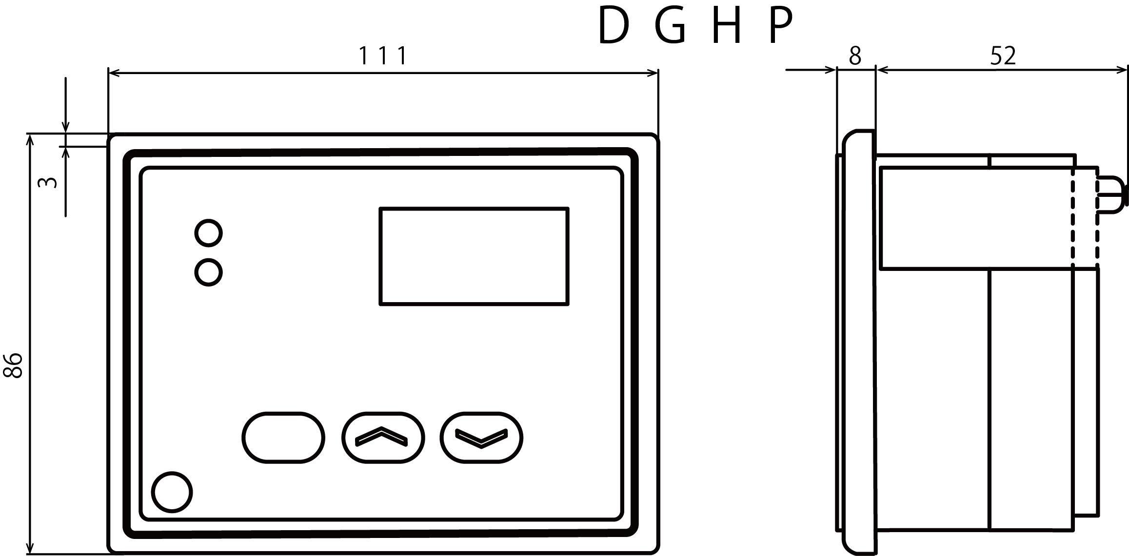 DGHP外形