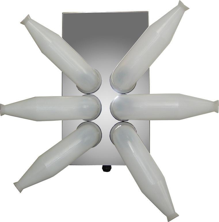 特殊形状吐出管採用