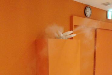 岩盤浴・ホットヨガスタジオの加湿にはコレ!全国No1のシェアを誇る超音波加湿システムです。