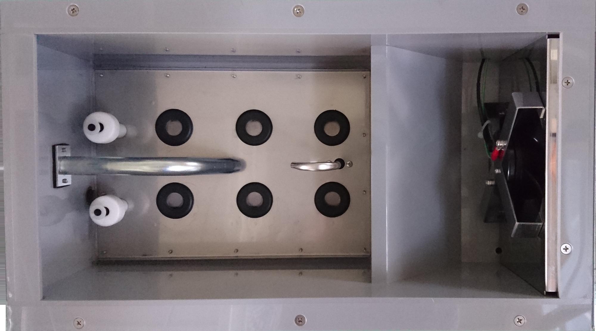 超音波加湿ユニット6個搭載 霧化量3.4L/h
