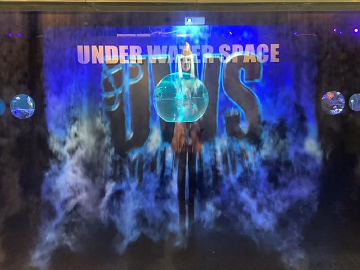 アクアリウム宇宙旅行「UNDER WATER SPACE」